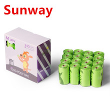 Hot New Products for Biodegradable Pet Poop Bags Degradable Dog Poop Bags supply to South Korea Supplier