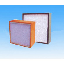 China Gold Supplier for Clean Air Filter HEPA Filter with clapboard supply to Estonia Suppliers