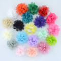 Chiffon flowers with hairpin hair accessories for children
