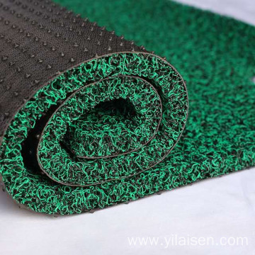 Korea market eco-friendly spike backing coil car mat