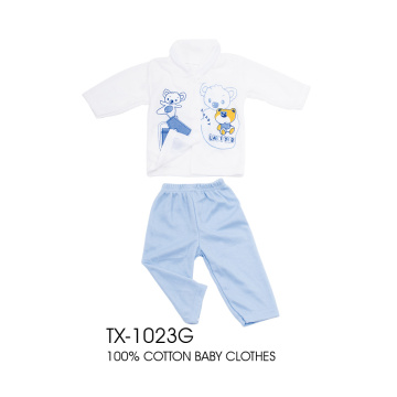 Cotton infant padding clothes 5 sets