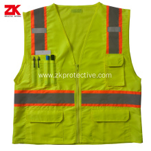 Hi-vis ANSI/ISEA 107 multi-pockets
