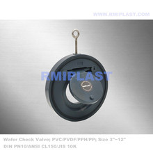 PVC Single Piece Wafer Check Valve ANSI CL150