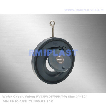 PVDF Wafer Check Valve ANSI CL150
