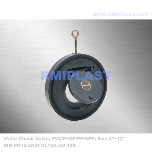 Wafer Type Swing Check Valve PPH