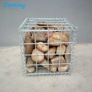 Factory Supply Hot Dipped Galvanized Gabion Basket