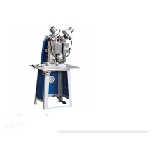 Semi automatic double head eyelet machine