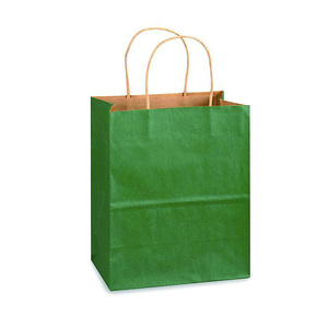 Factory directly supply for Kraft Paper Bag Matte Colors Square-bottom Kraft Paper Bags export to Gabon Suppliers