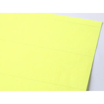 Yellow Heavy Duty Air Filter Paper