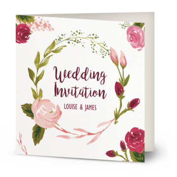 handmade custom paper party card wedding invitation card