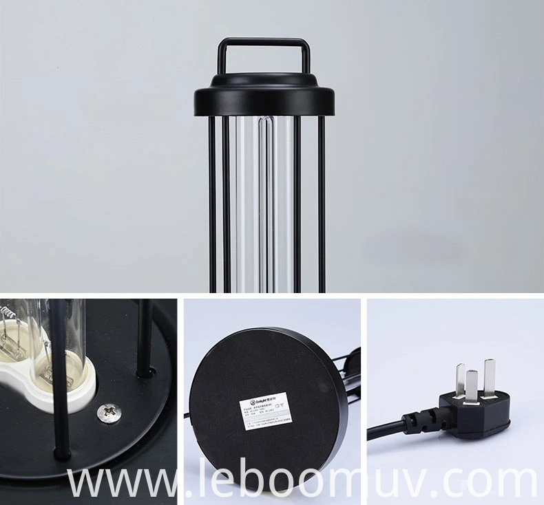 UVC room table lamp