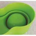 Anti-Ant Plastic Pet Bowl - Yellow