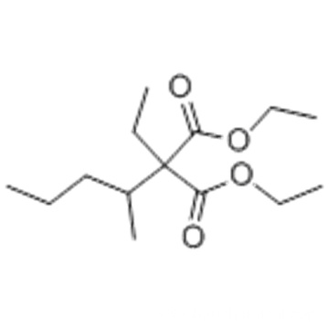 Diethyl ethyl(1-methylbutyl)malonate CAS 76-72-2