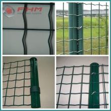 PVC Coating Euro Fence Panel with Post