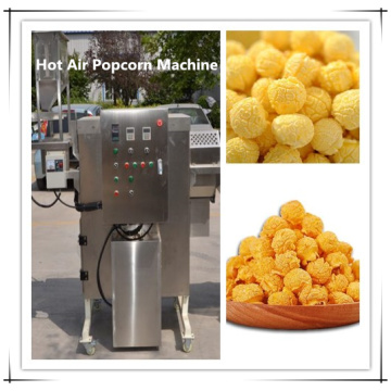 Hot air popcorn making machine for industrial use