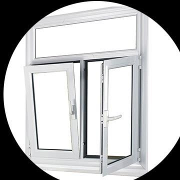 casement upvc profile windows