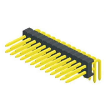 1.27X2.54 mm Pin header Dual Row Angle