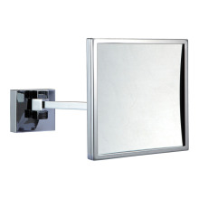 Single arm magnifying wall mirror