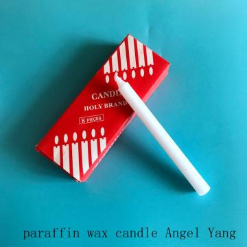 Red box paraffin wax bright candle bougie