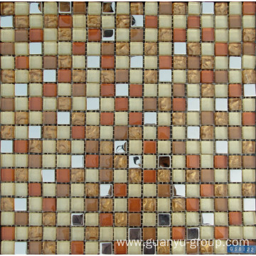 crystal aluminium alloy mix mosaic