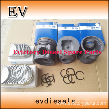 NISSAN engine parts piston PE6T piston ring