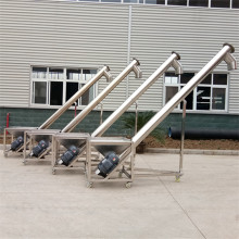 Big Discount for Grain Auger Stainless Steel Screw Auger Type Elevator supply to Italy Factories