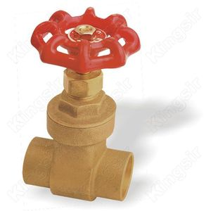Factory best selling for Brass Gate Valve Dica type Brass Gate Valves With Solder Ends supply to Anguilla Exporter