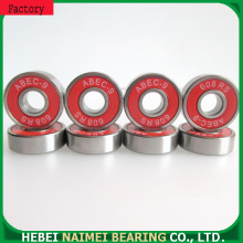 Hybrid ceramic skateboard ball bearings 608-RS