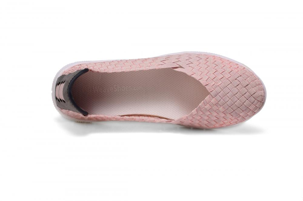 Soft Memory Insole Woven Pumps