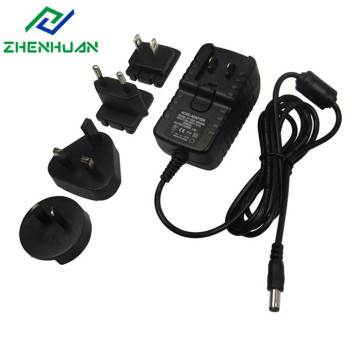 Adaptateurs d'alimentation de prise de convertisseur international 12V2A 24W