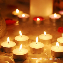 Cambodia white tealight candle for wedding