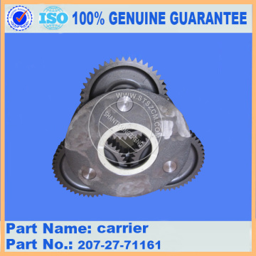 PC300-7 carrier 207-27-71161 komatsu excavator parts