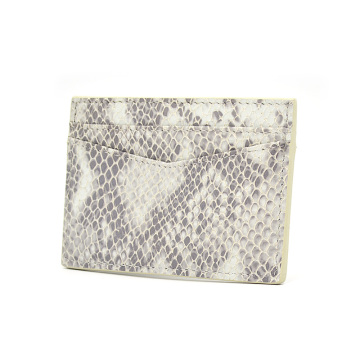 Wholesale Custom Logo Embossed Leather Cedit Card Holder