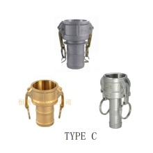 Hot-selling attractive for Stainless Steel Camlock Coupling Camlock Quick Couplings Type C export to Italy Supplier
