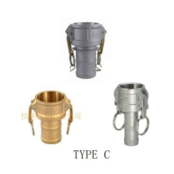 Personlized Products for Brass Couplings Camlock Quick Couplings Type C supply to South Korea Wholesale