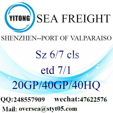 Shenzhen Port Sea Freight Shipping To Port of Valparaiso