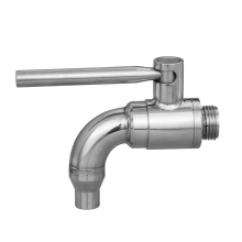 316 stainless ball valve Drain Tap valve water with tube