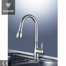 China for Single Lever Kitchen Tap High Arc Goose Neck Kitchen Sink Mixer Tap export to Indonesia Supplier