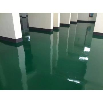 Epoxy thin coating floor paint for workshop