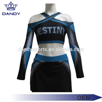 China for Cheer Uniforms custom backless sublimted cheerleading squad supply to Monaco Exporter