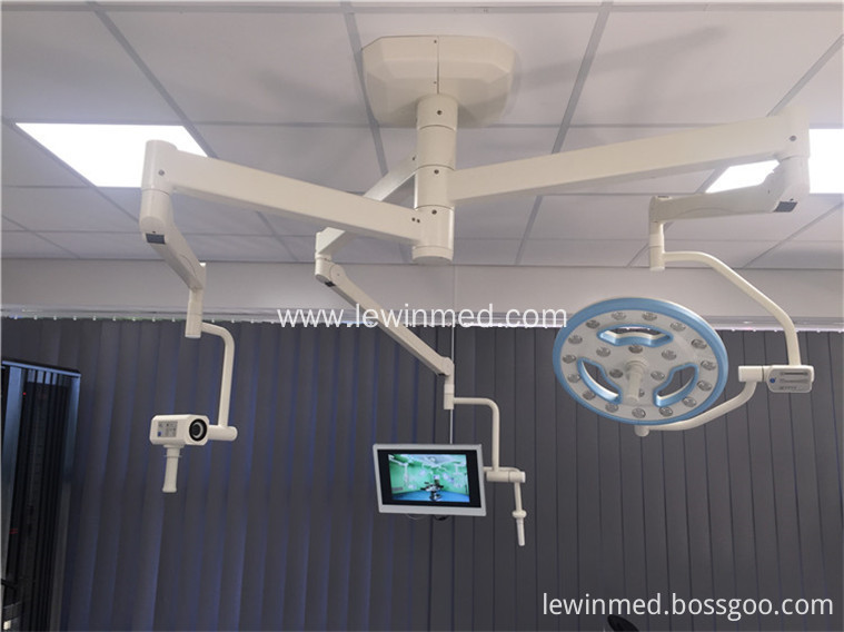 OR  led surgical lamp with camera system