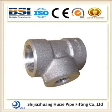 6000LB SW Pipe Fitting Tee