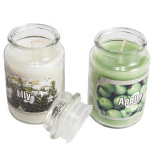 Glass jar candles wedding candles for sale