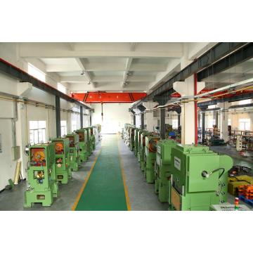High speed press machine for making eyelet