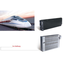 Aluminum Plate Bar Cooler for Railway Locomotive