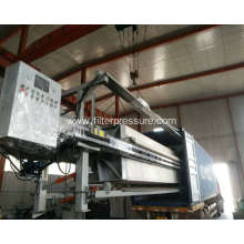 Hydraulic Sewage Treatment Plate Frame Filter Press