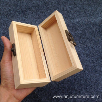 Engraving packaging wooden wine Packed plain Wine Box wholesale
