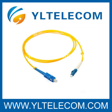 10 Years manufacturer for Fiber Optic Patch Cables Customized SM Duplex Optical Fiber SC / LC Patch Cord 2.0mm LSZH export to Israel Exporter