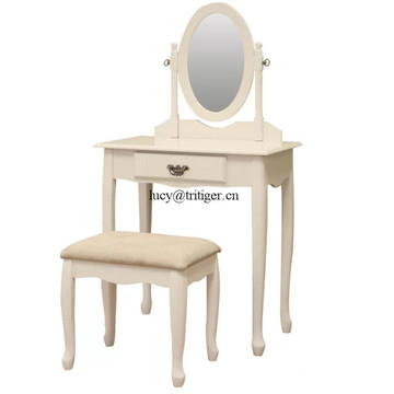 Solid Wood Dressing Table Dresser White Dresser Makeup Table.