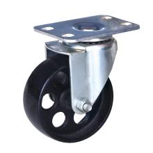 New Delivery for 3'' Wheel Plate Caster,Pa Wheel Caster,Small Size Furniture Caster Manufacturer in China 3 inch cast iron wheel swivel caster export to French Polynesia Supplier